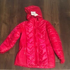 NWT Justice Water Resistant Puffer Jacket